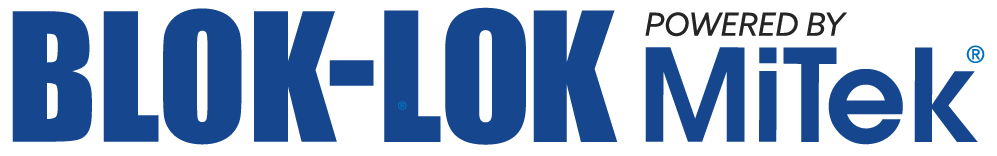 blok-lok powered by MiTek logo