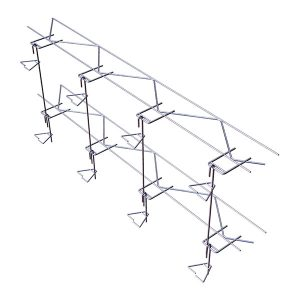 Tie-HVR 195V Truss Anchor System for Rubble Stone