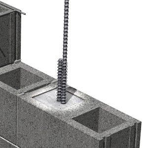 SPYRA-LOX® Rebar Lap-Joint Tie